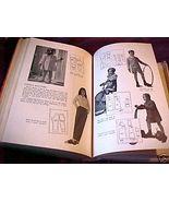 THE NEW ENCYCLOPEDIA OF MODERN SEWING,SALLY DICKSON;HCDJ 1943;1940's Fas... - $15.99