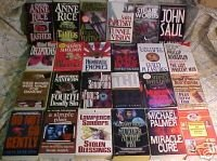 LOT OF 24 MYSTERIES-PARETSKY,SAUL,WOODS,RICE,PALMER,M21