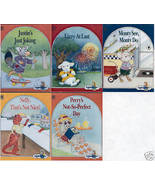 5) ALPHAPETS BOOKS-JUSTIN; LIZZY; MONTY; NELLY;PERRY-Like new HC; Free S... - $29.99