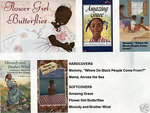 (5)AMAZING GRACE;MIRANDY;MAMA ACROSS THE SEA;FLOWER GIRL