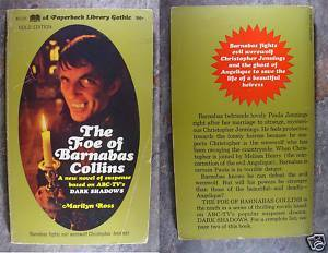 Dark Shadows Paperback The Foe Of Barnabas Collins