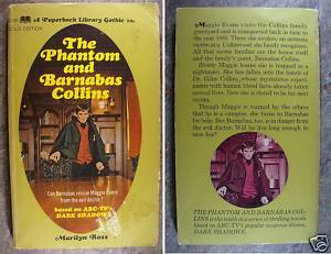 Dark Shadows Book - The Phantom and Barnabas Collins