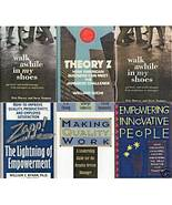 5)THEORY Z;MAKING QUALITY WORK;EMPOWERING PEOPLE;ZAPP! - $24.99