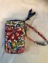 Vera Bradley Wallet Wristlet Zip Around ID Holder Pattern Hope Garden Retired - $9.85
