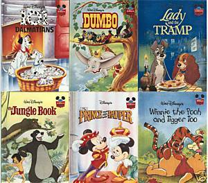 "(6)DISNEY'S WONDERFUL WORLD OF READING-CLASSICS-NEW Hardcovers;Lot 'E"";Free s/h"
