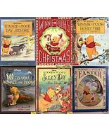 6)WINNIE THE POOH:EEYORE;CHRISTMAS;BOO;SILLY;EASTER;HON - $24.99