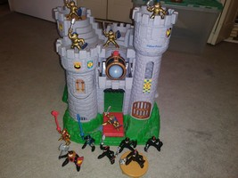 Fisher Price Great Adventures Castle Lot Medieval Castle Knights Vintage... - $44.55