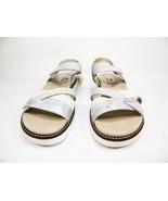 Spring Step Elzira Strap Sandals Grey Leather Size 41 (US:9.5-10) - $67.72
