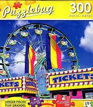 Puzzlebug Ferris Wheel at The State Fair - 300 Large Pieces Jigsaw Puzzl... - $7.13