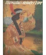 "1920 "" Hiawatha's Melody of Love "" Pretty India... - $9.95"