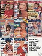 7 GOOD HOUSEKEEPING-1993-96-DECOR,FOOD,LOVE,FASHION,MEN - $24.99