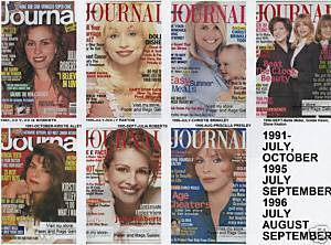 7 Ladies Home Journal 1991-1996-DOLLY,JULIA,KIRSTIE,CHR