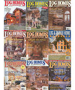 9)LOG HOMES ILL;2006ANNUAL GUIDE; 2005LOG&TIMBER WORKBK - $32.87