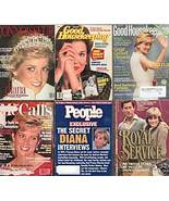 6)PRINCESS DIANA MAGAZINES-GH,PEOPLE,McCALL'S1990-2007 - $24.99