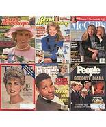 6)PRINCESS DIANA MAGAZINES-GH,PEOPLE,McCALL'S1987-97 - $24.99