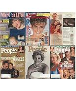 6)PRINCESS DIANA MAGAZINES-GH,PEOPLE,McCALL'S1985-97 - $24.99