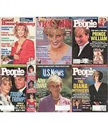 6)PRINCESS DIANA MAGAZINES-GH,PEOPLE,McCALL'S,1991-1997 - $24.99