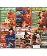 6)GOOD HOUSEKEEPING-HALLOWEEN IDEAS,CRAFTS,FUN! 2003-08 - $24.99