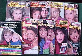 9 ISSUES-GOOD HOUSEKEEPING-JAN-OCT 1987-FERGIE,JANE,DIA - $24.99