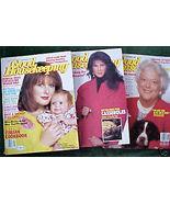 3 ISSUES-GOOD HOUSEKEEPING-SEPT-NOV 1989-BARBARA BUSH - $14.99