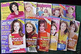 11 ISSUES-GOOD HOUSEKEEPING-JAN-NOV 2001-SALLY,CAROLIN - $24.99