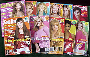 11 ISSUES-GOOD HOUSEKEEPING-JAN-NOV 2002-CHER,HALLE,JLO