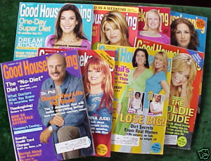 8 ISSUES-GOOD HOUSEKEEPING-JAN-NOV 2005-JUDD,DR.PHIL,GO