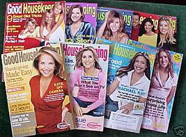 9 ISSUES-GOOD HOUSEKEEPING-JAN-NOV 2006-RACHAEL RAY,KAT - $24.99
