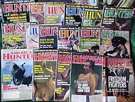 AMERICAN HUNTER-17 ISSUES-1992-1995 - $24.99