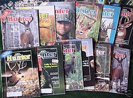 NORTH AMERICAN HUNTER-12 ISSUES-1991-93-DEER,ELK,TURKEY - $24.99