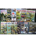 15 IN-FISHERMAN ISSUES 1998-2003+CATFISH,FISHING FACTS - $29.99