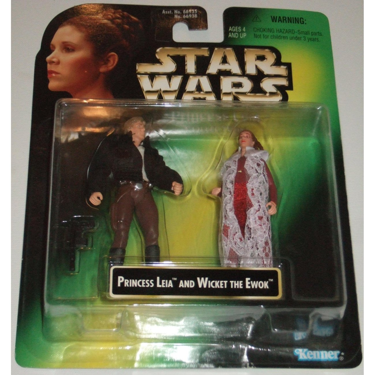 Star Wars Princess Leia & Han Solo Set from the Princess Leia Collection mislabe
