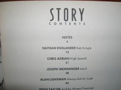 1997 - 1998 NATHAN ENGLANDER STORY Magazine collection