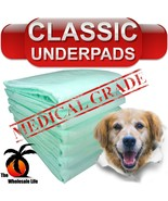 100 Dog Puppy Pads 23x24 Training Wee Wee Chux Pee Potty Housebreaking Underpads