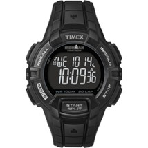 Timex IRONMAN® 30-Lap Rugged Full-Size Watch - Black - $55.84