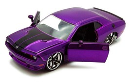 Dodge Challenger, Purple - Jada Toys Bigtime Muscle 92034 - 1/24 scale D... - $57.80
