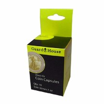 Direct Fit Air Tight Coin Capsules, 1 oz Gold Eagle by Guardhouse 32mm, ... - $7.98