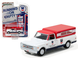 1968 Chevrolet C-10 Standard Oil Pickup Truck 1/64 Diecast Model Car by Greenlig - $13.99