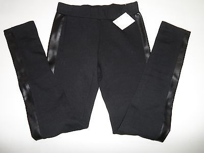 Nordstrom RID Faux Leather Panelled Legging Black Size S-$44