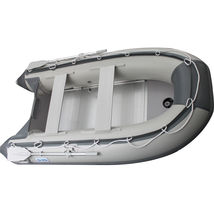 BRIS 9.8ft Inflatable Boat Tender Fishing Raft Dinghy Boat + Free Launch Wheels image 5