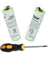 2x HQRP Battery for Philips Norelco 7240XL 7260XL 7800XLCC 7800XL T800 T900 - $18.36