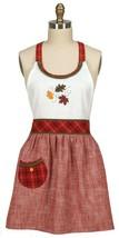 Kay Dee Designs Hello Fall Hostess Apron Cotton Kitchen - $29.99