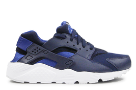 Nike Huarache Run Obsidian 654275-414 High Performance Big Kids Junior S... - $84.95