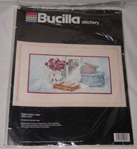 "Bucilla Stitchery Once Upon A Time Embroidery Kit  #40282 8""x16"" 1990 NEW - $15.83"