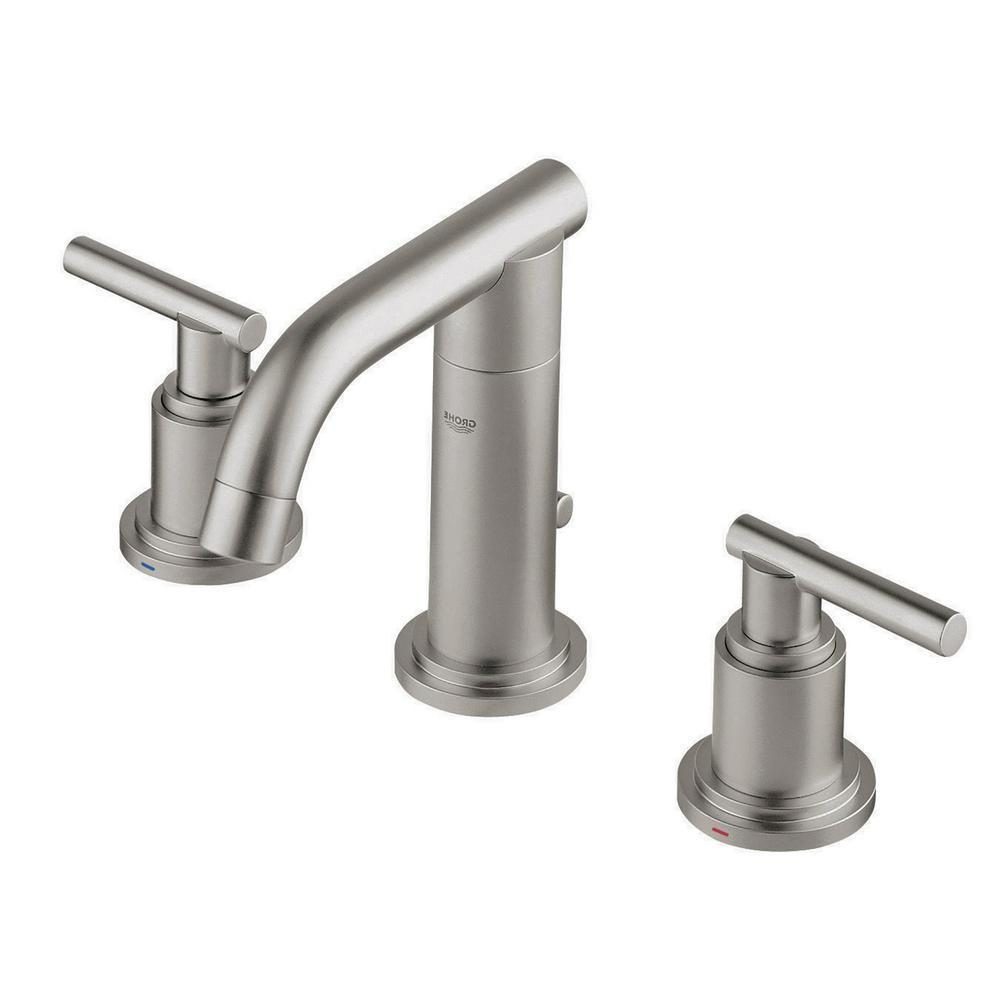 Grohe 20072ENA Brushed Nickel with handles Atrio Fuacet New open box authentic!