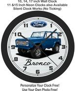 1974 Ford Bronco Wall Clock-Free US Ship - $27.71+
