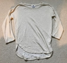Sweater Girls Size Sz L 10 12 Shirt Top Blouse Girl's Shimmer Gold - $11.83