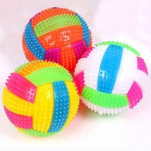 Bouncing Balls Volleyball Light Up Luminous Flashing Toy Party Gift For ... - $6.84