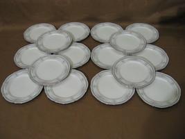 """Set of 16 Noritake Rothchilds Bread & Butter Desert Plates 7293 7"""" Ivory... - $99.99"""