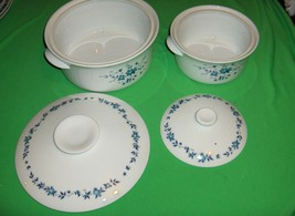 4 Pc Vintage Noritake China Country Side Cook 'N Serve Covered Casserole... - $103.95